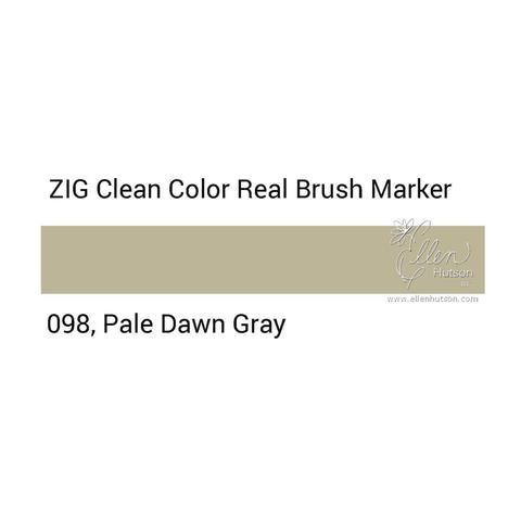 Маркер акварельный ZIG Clean Color Real Brush- штучно - 098