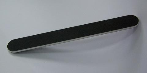 Белита Пилочка двухсторонняя для обработки искусственных и натуральных ногтей (черная)