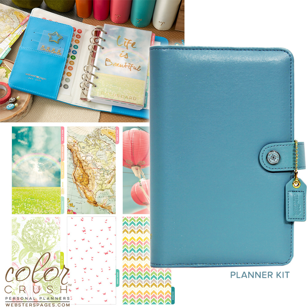 Планнер PERSONAL PLANNER KIT : Sky Blue  by Websters Pages