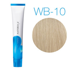 Lebel Materia Lifer WB-10 (яркий блондин тёплый) - Тонирующая краска для волос
