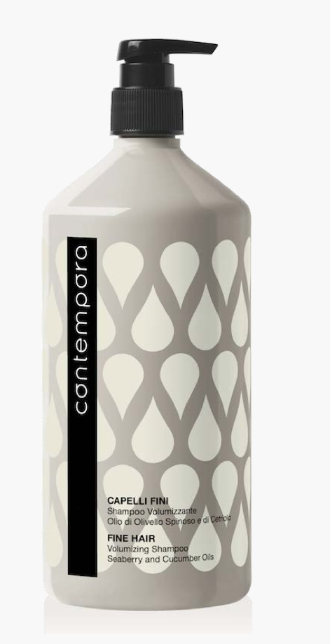 Кондиционер для придания объема с маслом облепихи и огуречным маслом Contempora Barex