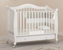 Кровать детская Моника белый