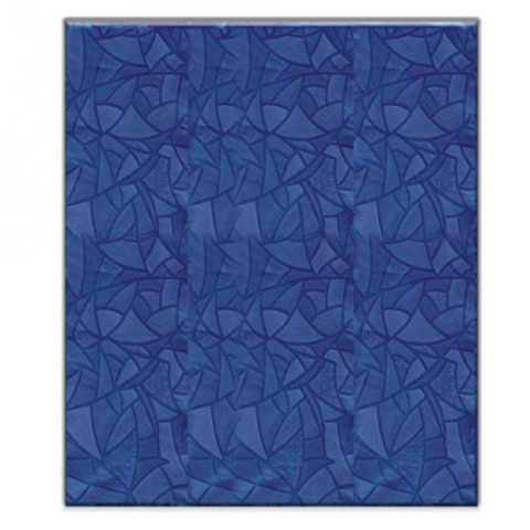 Скатерть одноразовая ПВХ 120x180 см синяя