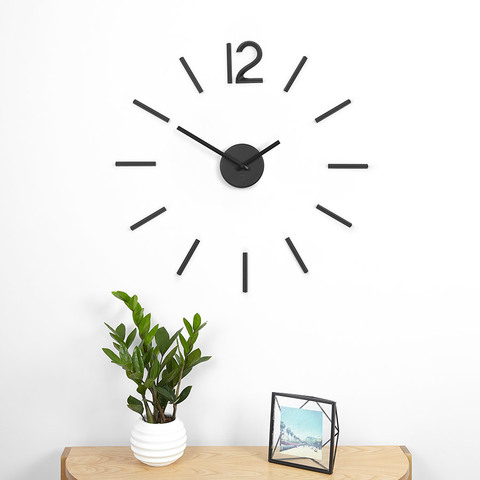 Настенные часы Blink чёрные