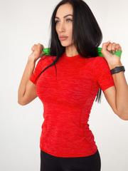 Футболка женская Lion gym MAXI PERFORATION T-SHIRT RED