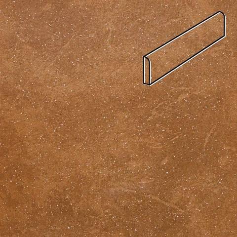 Stroeher - Keraplatte Roccia 839 ferro 240х73х8 артикул 8107 - Клинкерный плинтус
