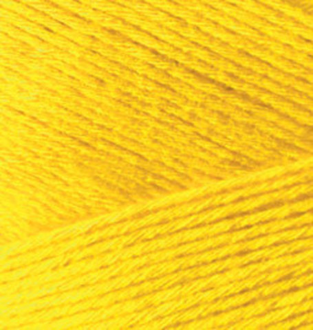 Пряжа Alize Bamboo Fine желтый 216