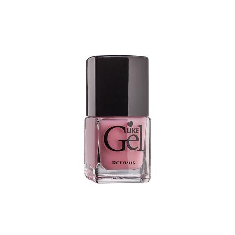 Relouis Like Gel Лак для ногтей с гелевым эффектом тон №13 (пудровая пастель) 6г