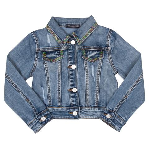 Куртка джинсовая для девочки Miss Blumarine