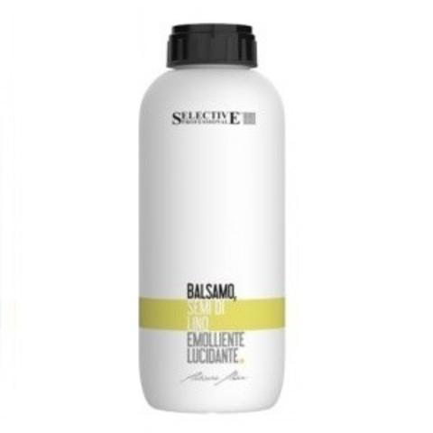 Бальзам Селектив для поврежденных волос с льняным маслом 1000мл