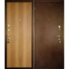 Дверной блок металл. стандарт, 860х2050 левый (улица/помещ.)