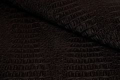 Искусственная кожа Crocodile (Крокодил) С-8 коричневый