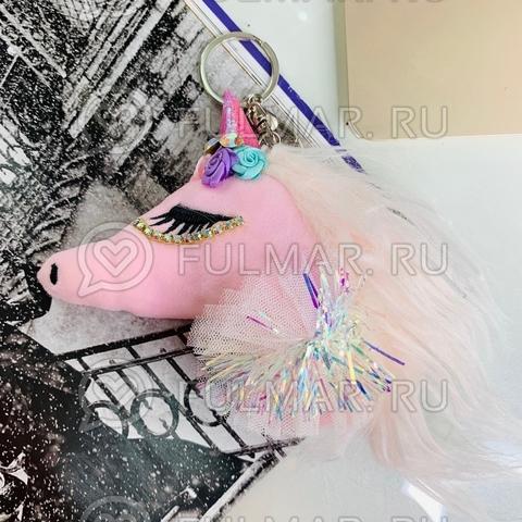 Волшебный единорог-брелок игрушка Розовый