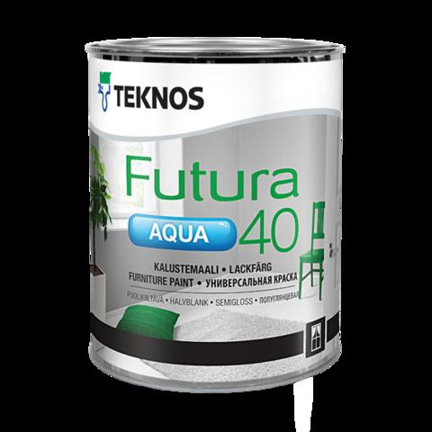 TEKNOS FUTURA AQUA 40/Текнос Футура Аква 40 Полуглянцевая универсальная краска