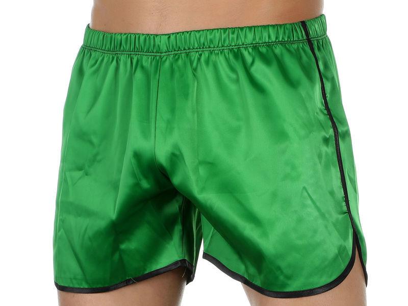 Мужские шорты зеленые Van Baam VB-39264
