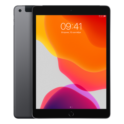 Apple iPad 2019 32GB Wi-Fi + Cellular Space Gray