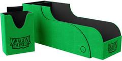 Dragon Shield - Зелёно-чёрная коробочка Nest+ с отделением для кубиков (300 карт)