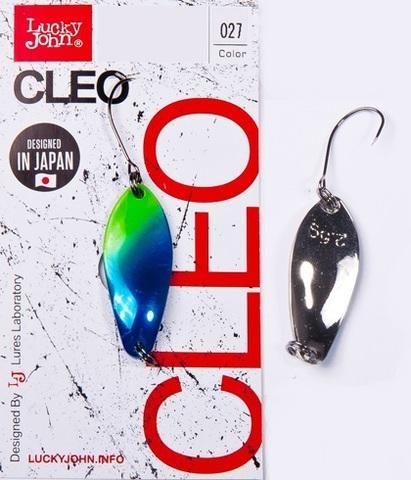 Блесна LUCKY JOHN Cleo 2,5 г, цвет 027, арт. LJCL25-027