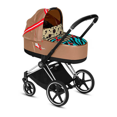 Коляска для новорожденных Cybex Priam III FE Karolina Kurkova на шасси Matt Black