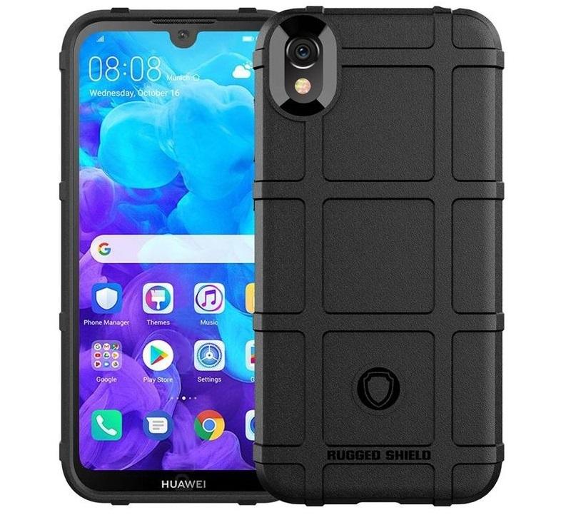 Чехол Huawei Y5 2019 (Honor 8S) цвет Black (черный), серия Armor, Caseport