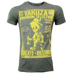 Футболка оливковая Yakuza Premium 2801