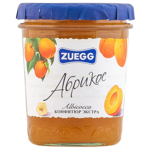"Конфитюр ""Zuegg"" абрикос, 320 г"