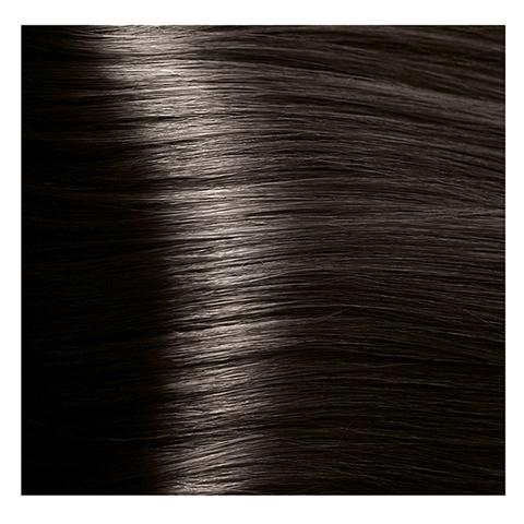 Крем краска для волос с гиалуроновой кислотой Kapous, 100 мл - HY 6.12 Темный блондин табачный