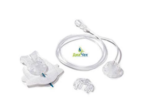 Набор инфузионный  Акку-Чек Тендер Линк  17/80  (длина иглы 17 мм, длина катетера 80 см)