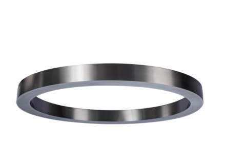 светильник Light Ring Horizontal Sand Nickel