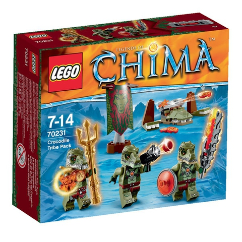 LEGO Chima: Лагерь Клана крокодилов 70231 — Crocodile Tribe — Лего Чима