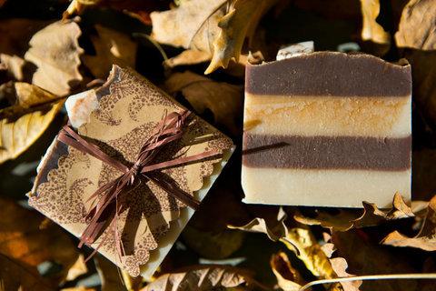 Органическое мыло Шоколадное