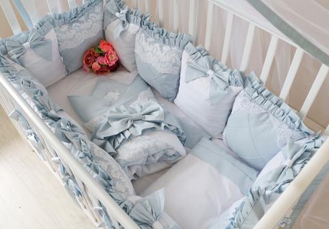 Комплект в кроватку Angel's dream, на 4 стороны кроватки