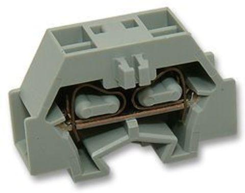 Микроклемма модульная МКМ 4мм2 серая TDM