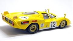 Ferrari 512S yellow 1:43 Eaglemoss Ferrari Collection #49