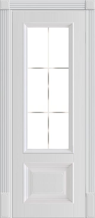 Межкомнатная дверь Nica 15.2 под стекло