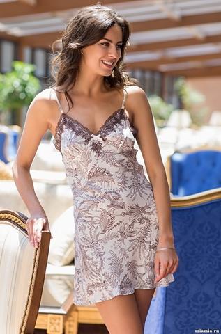 Короткая сорочка Mia-Amore 3081 EVITA (70% шелк)