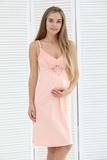 Ночная сорочка для беременных и кормящих 09903 лиловый