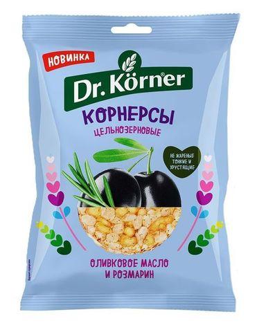 Dr. Korner Чипсы ц/з кукурузно-рисовые с оливковым маслом и розмарином 50 гр.
