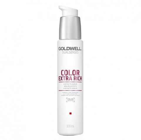 Сыворотка 6-кратного действия для окрашенных и жёстких волос, Goldwell Dualsenses Color Extra Rich, 100 мл.