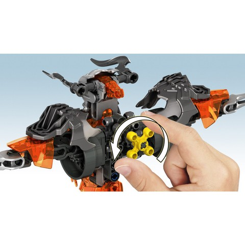 LEGO Bionicle: Создатель Масок против Стального Черепа 70795 — Mask Maker vs. Skull Grinder — Лего Бионикл