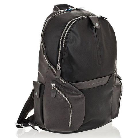 Рюкзак Piquadro Coleos (CA2943OS/N) черный кожа/кожзам