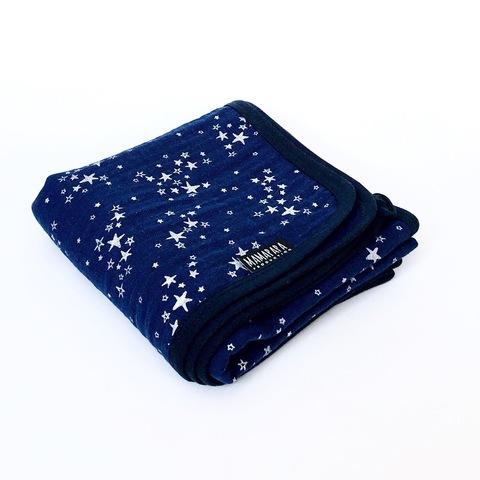 Муслиновое одеяло Mjölk Night Sky Metallic