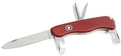 Складной нож Victorinox Adventurer 2017, красный, 111 мм., 11 функций (0.8453) - Wenger-Victorinox.Ru
