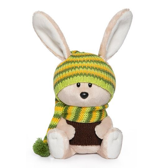 Заяц Антоша в шапочке и свитере (Лесята Budi Basa)