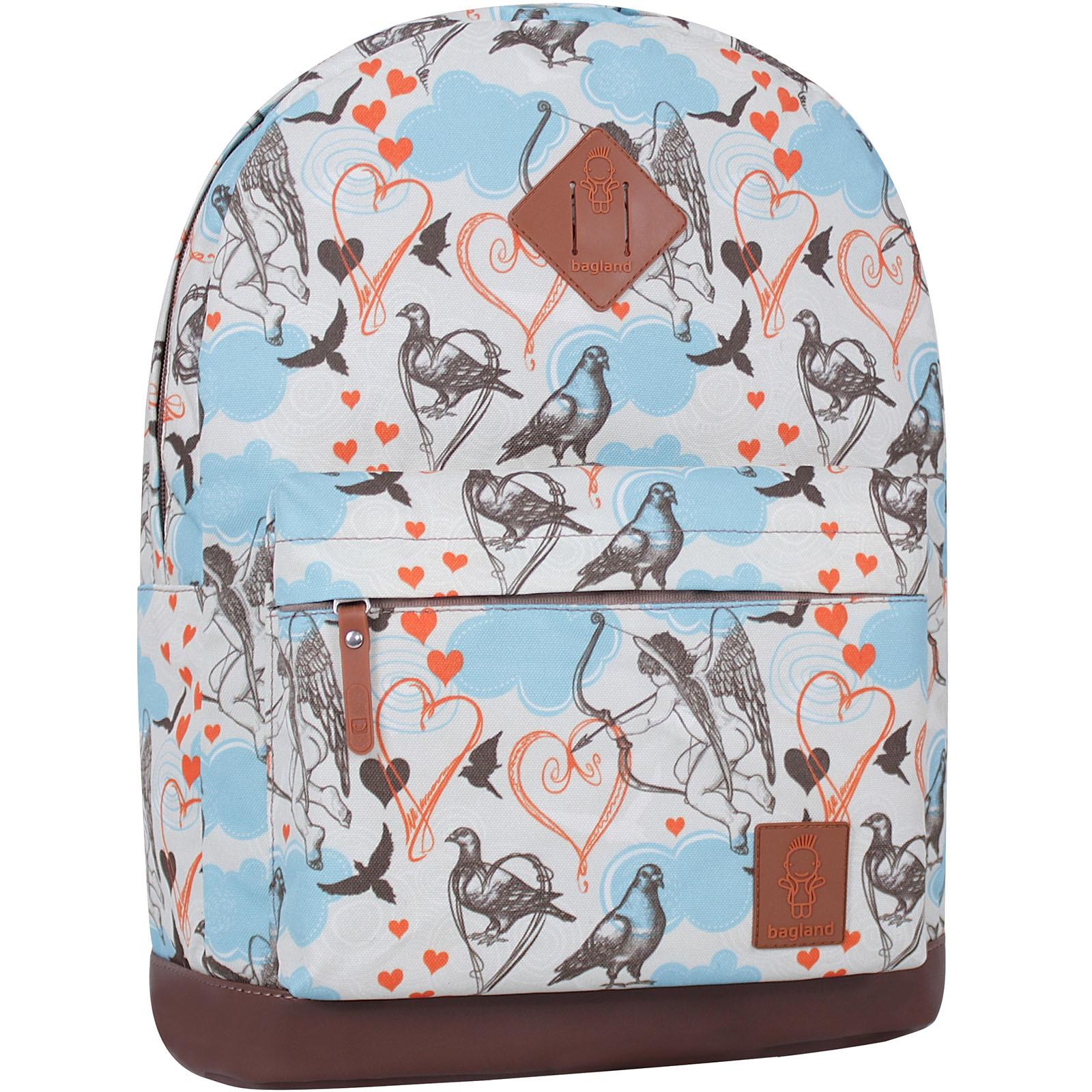Городские рюкзаки Рюкзак Bagland Молодежный 17 л. сублимация (голуби) (005336640) IMG_8515_суб.88_.JPG