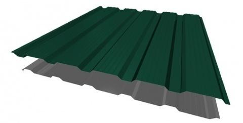 Профнастил НС21х1170 мм RAL 6005 Зеленый мох двухсторонний
