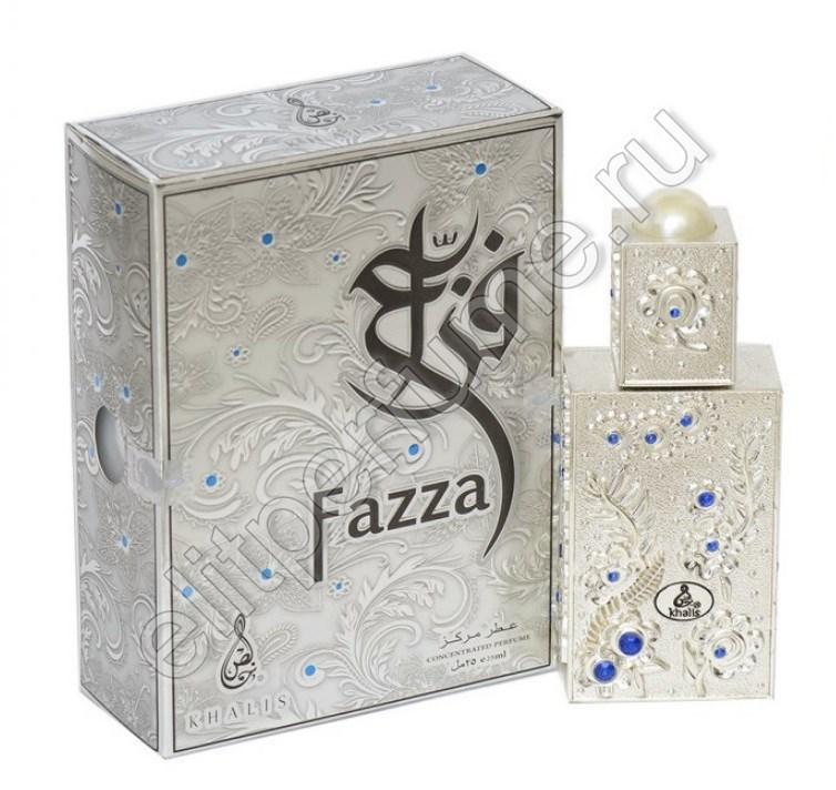 Fazza Фазза 18 мл арабские масляные духи от Халис Khalis Perfumes