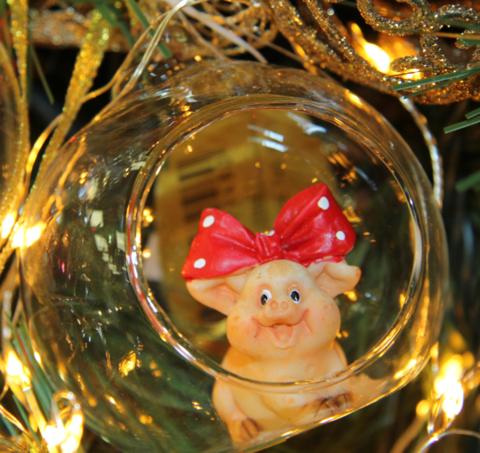 Свинья в шаре L53944