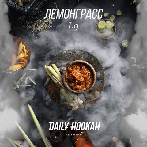 Табак Daily Hookah Лемонграсс 60 г