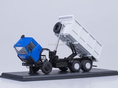 MAZ-5516 tipper blue-gray Start Scale Models (SSM) 1:43